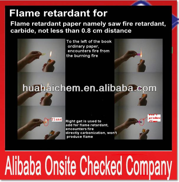 new flame retardant 2013 used in ro antiscalant chemical