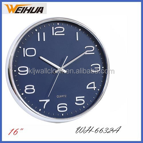 large decorative kitchen time clocks with silver coating