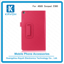[kayoh]Flip Litchi Grain Leather Stand Cover cheap phone cases Case For Asus ZenPad Z380