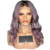Ombre Wig Wavy Bob Full Lace Human Hair Wigs With Baby Hair For Black Women