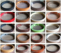 plastic table edging trim pvc edge banding for furniture