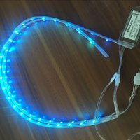 Plastic Shoe Accessories Led Shoes Light