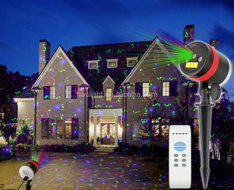Lazer Light Outdoor Christmas Elf Light Laser Show House Projector ...