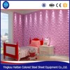 Modular wall panel system Art Decor PVC 3D Wall Covering Panels For House Interior for hotels wall fireproof decorative
