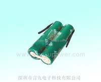 lithium ion Cylindrical battery pack 18650-2s 7.4v 1400mah lithium polymer battery pack