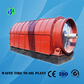 High output 10 tons used tire pyrolysis plant for sale