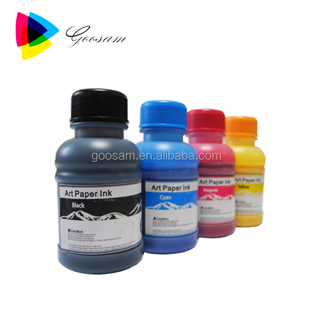 Art Paper Pigment Ink for Magzine Paper / Art Paper Ink for Desk Calendar / Art Paper Inkjet Ink for Wallpaper Printing