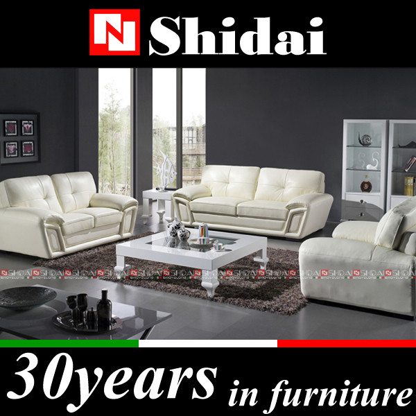 Golden quality modern design leather sofa 975