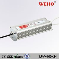 Different types waterproof 24v 100w constant voltage led driver