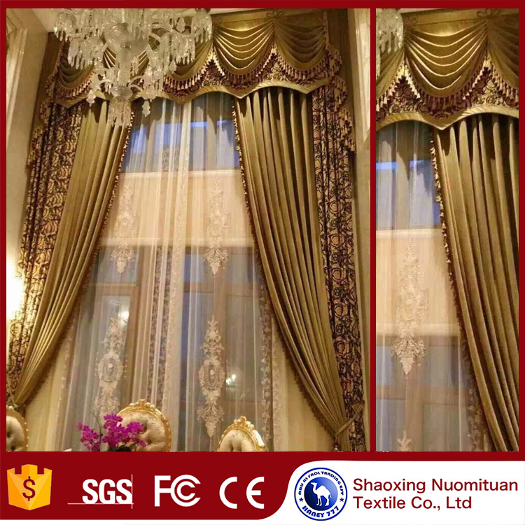 Good supplier contemprory blackout curtain cheap curtain in turkey