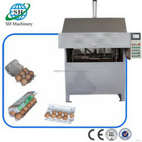 Factory useful paper egg plate forming machine for sale