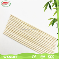Custom bbq natural bamboo barbeque eco-friendly doubel prong skewer