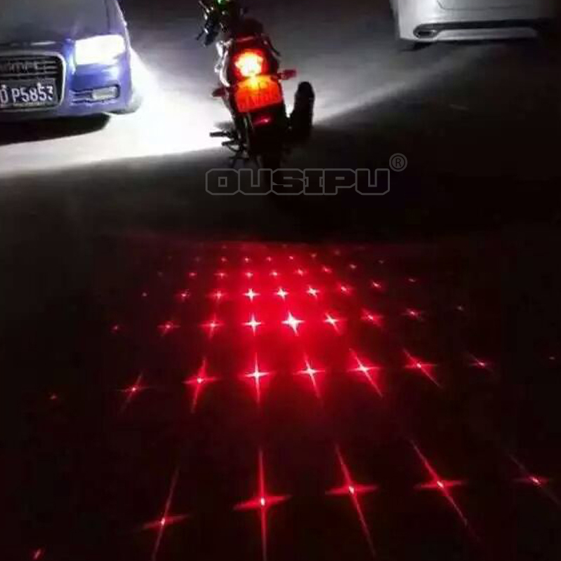 2015 newest motorcycle laser chrome fog light trim tail light for honda civic for toyota rav4