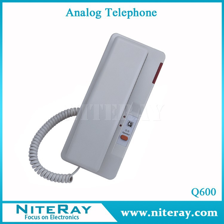 Wall mounted telephone hotel telephone analog phone Q600