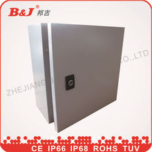 electrical control panel/ip66 distribution box/wall mounted electrical metal enclosure/electrical distribution panel board
