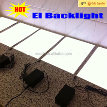 2018 new low price electroluminescent el backlight panel sheet