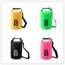 Hot Sale 5L Waterproof Outdoor Sport Dry Bag for Boating Camping Swimming