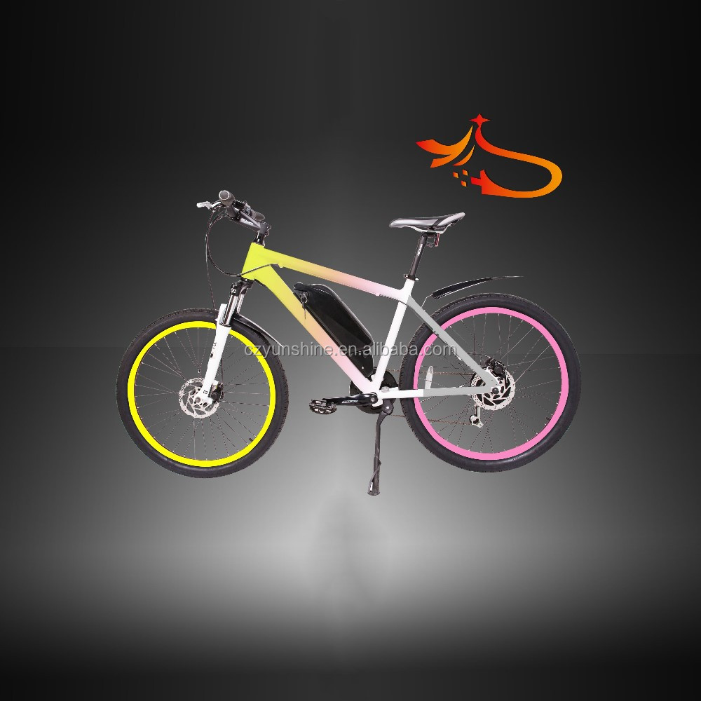 G-She ,electric mountain bike with cheap engine kit