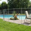 Over 10 years experience Factory Security Aluminum removeable pool fence