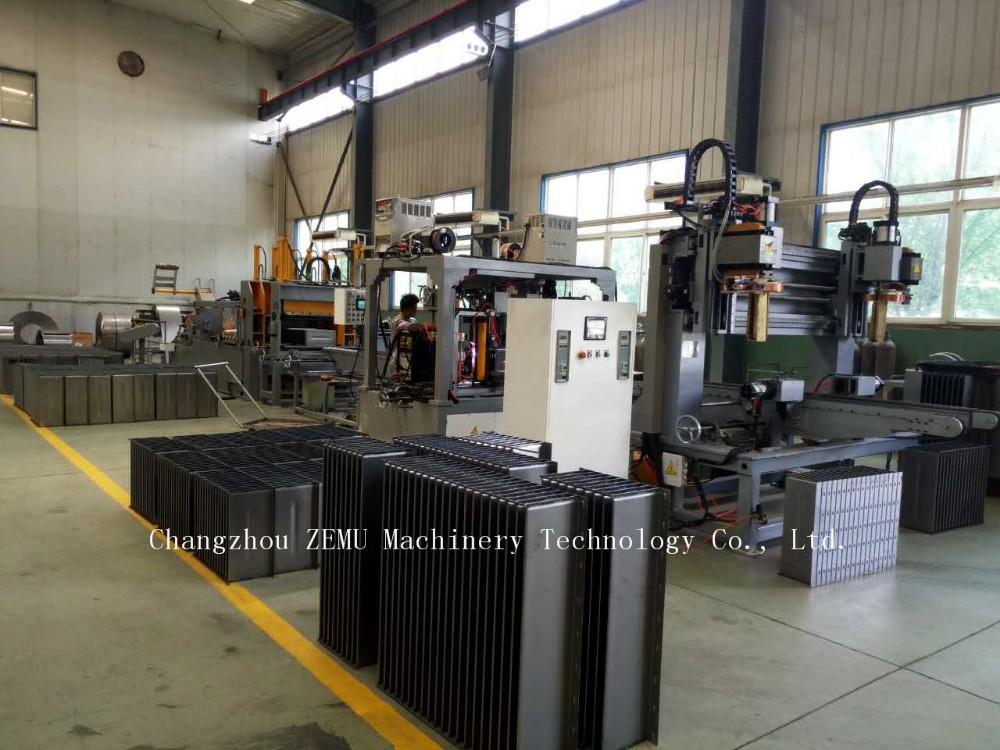 Corrugated Transformer Tank Radiator Making Machine