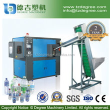 China factory full automatic 2cavity pet bottle blow molding machine with CE