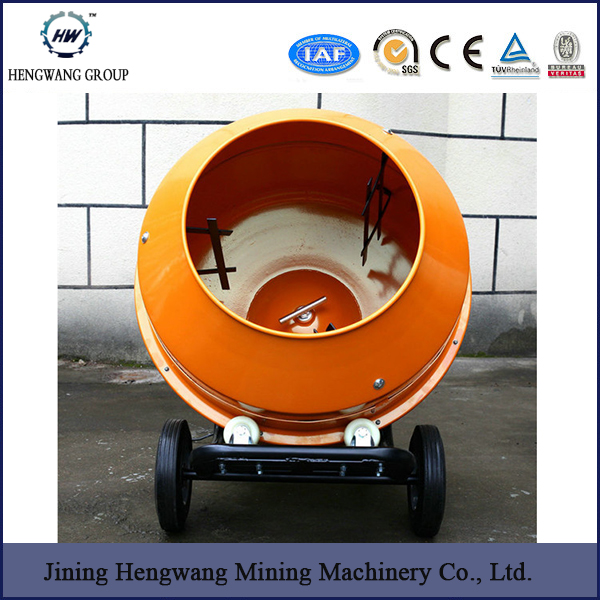 HW-350 long service time and good warranty used portable concrete mixer for sale
