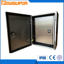 Newsuper 304 or 316 Stainless steel enclosure box, SS cabinet , wall mounted SS enclosure