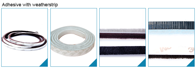 China customized Self Adhesive Silicone Strip, All Sizes Dust Strip, Cabinet Door Dust Seal