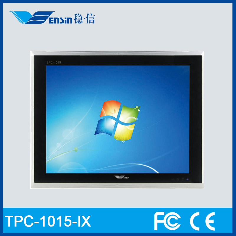 "15"" Industrial Touch Screen Windows Core i7 Tablet PC Linux With 4g Sim Card Slot"