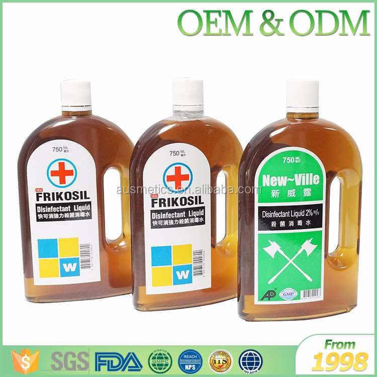 GMP certification natural antiseptic disinfectant liquid clothes disinfectant