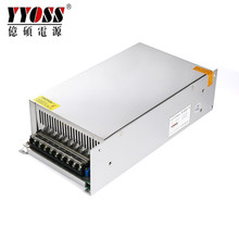 CE Rohs 500w switching power led driver 12v 24v dc hgih efficiency LED strips Advertising led modules