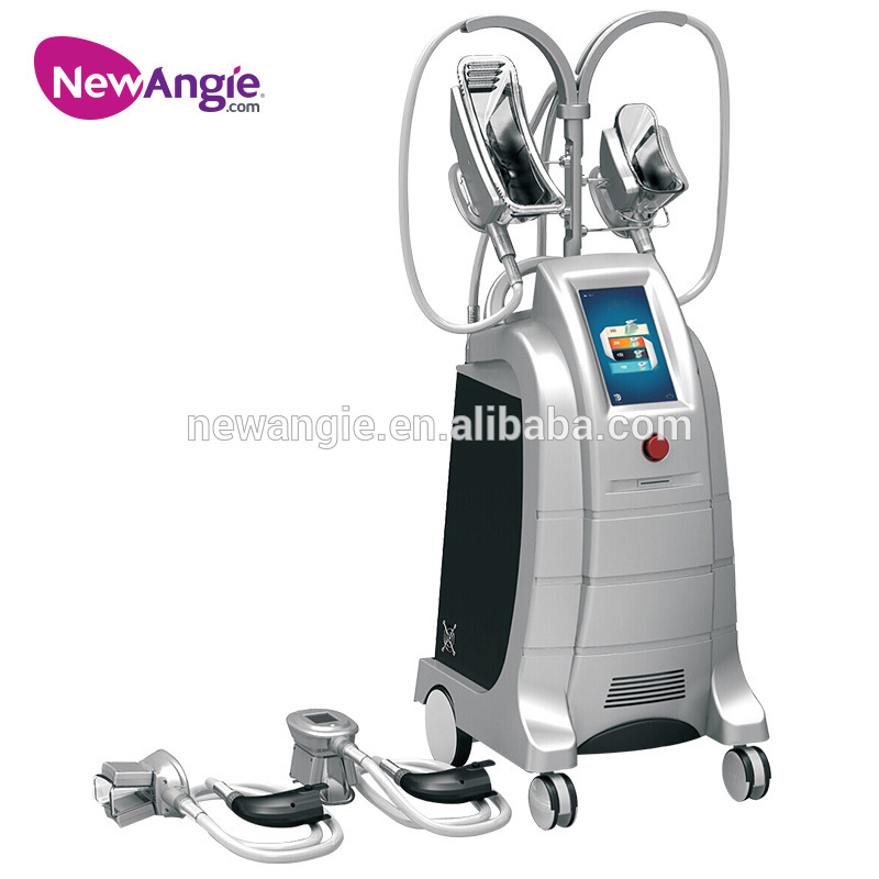 Cryolipolysis 4 handles slimming machine portable fat freeze for different body parts