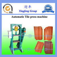 Yingfeng auto roof tile making machine with low investment