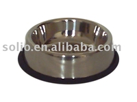 304 stainless steel pet bowl