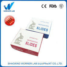 WORNER Lab Glass Slides For Microscope