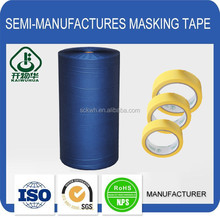 Hot sale custom printed 100% stretch crepe paper masking tape for industrial use