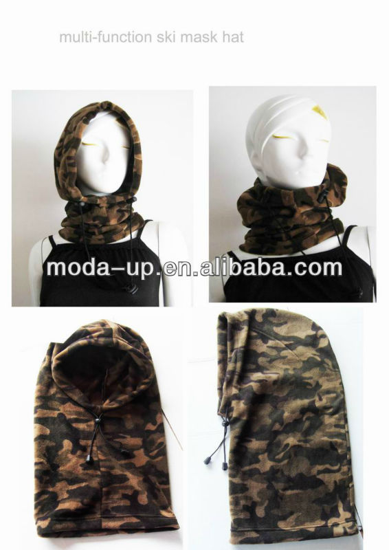 multi-function ski mask hat