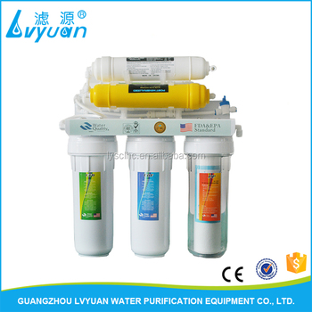 6 stage manual water filter/aqua grand water purifier