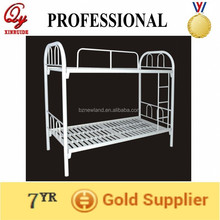 heavy duty strong steel bunk bed with plate
