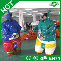 Hot fighting inflatable sumo wrestling suits,foam padded sumo suits,outdoor inflatable sumo game for kids