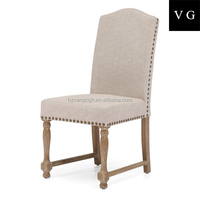 Hotel wood dining chair antique reproduction french furniture, american classic furniture