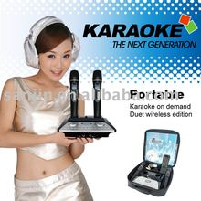 Magic Sing-Along Karaoke Mike System +Wireless Digit Microphone+4PcsSD Card Slots and 500GB Hard Disk (optional)(KOD-100/MK-100)