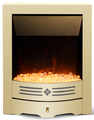 Golden Panel Insert Electric Fireplace