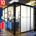 European Standard Modern Slimline Aluminium Internal Office Partitions