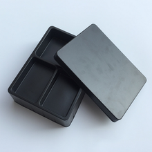 Anti-static black electronic blister tray blister clamshell packaging for electronic products