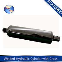 China custom double acting hydraulic cylinder for tipper truck with low price