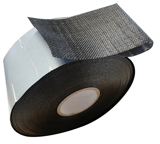 Polypropylene bitumen adhesive tape for anti corrosion of underground flange valve fitting