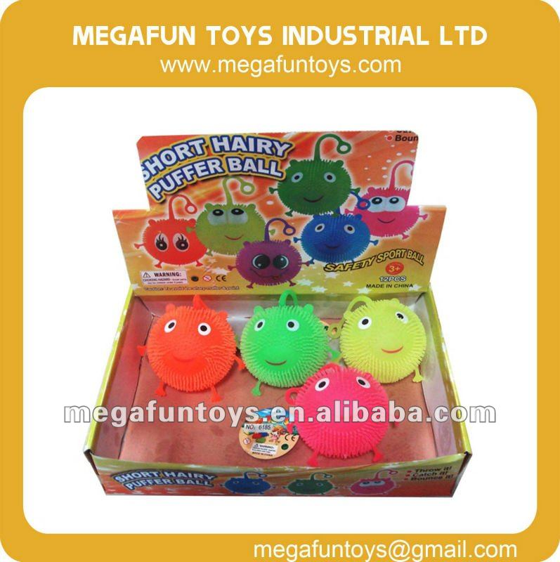 Flashing toy Set Smiley Bouncing Ball with Flashing Light