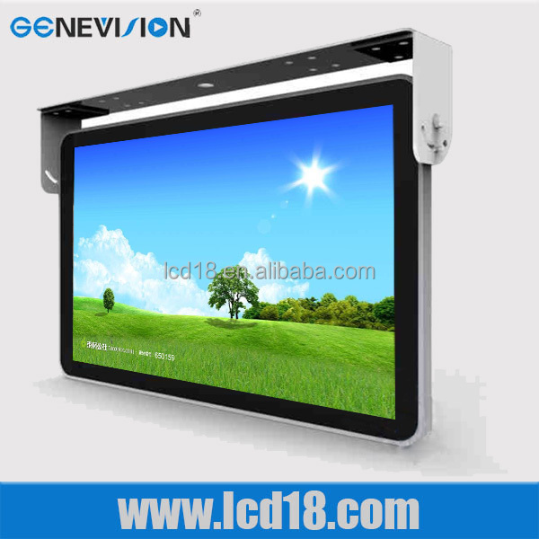 15 inch Bus Tv Monitor For Tour Bus Lcd Display Videos