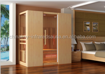 Cheap Hot Sale Top Quality Sauna room, Combined infrared sauna Room